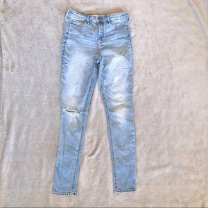 Hollister High Rise Super Skinny Jeans Denim